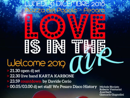 Festa di fine anno 2018 a Pesaro