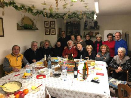 Matteo Ricci a casa Brenta