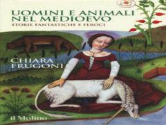 """""""Uomini e animali nel Medioevo"""", copertina"""