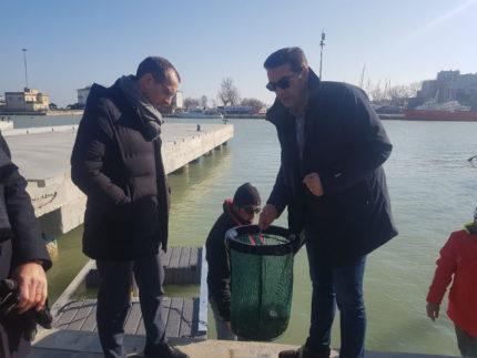 Matteo Ricci in visita al Cantiere Rossini
