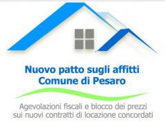Nuovo patto sugli affitti del Comune di Pesaro