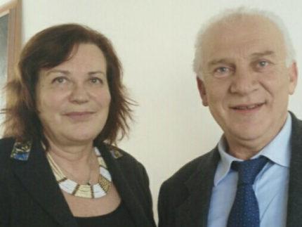 Rita Benini e Michele Cancellieri