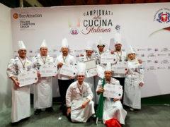 Team Cuochi Marche medaglia d'argento ai Campionati della Cucina Italiana