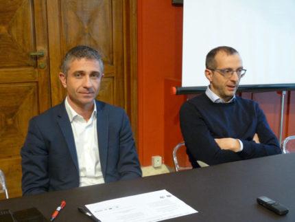 Matteo Ricci e Antonello Delle Noci