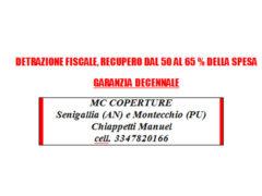 MC Coperture - Bonifica e smaltimento amianto - Detrazioni fiscali - Garanzia decennale