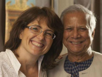 Yanus e Paola Samoggia