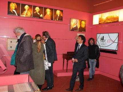 Sala Rossa del Museo Nazionale Rossini di Pesaro