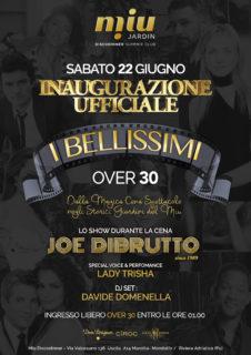 """Inaugurazione """"I Bellissimi over 30"""" alla discoteca Miù di Marotta di Mondolfo"""
