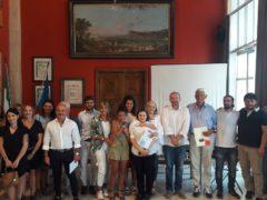 Premiazione per la miglior vetrina a Pesaro
