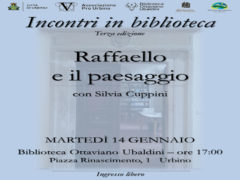 Incontri in biblioteca ad Urbino