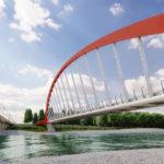 Ponte ciclopedonale sul Cesano