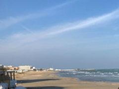 Lungomare, spiaggia, di Pesaro