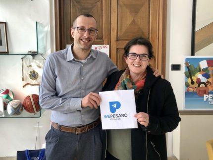 Presentazione del canale Telegram del Comune di Pesaro