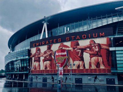 Emirates Stadium a Londra: stadio dell'Arsenal