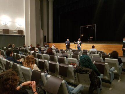 Primo spettacolo post-lockdown al teatro Sperimentale di Pesaro