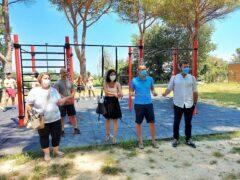 Struttura per workout inaugurata al parco Scarpellini di Pesaro