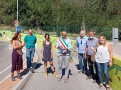 Murales inaugurato a Pesaro