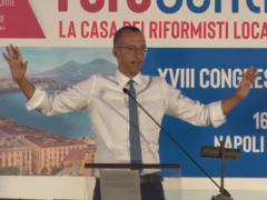 Matteo Ricci al congresso ALI di Napoli