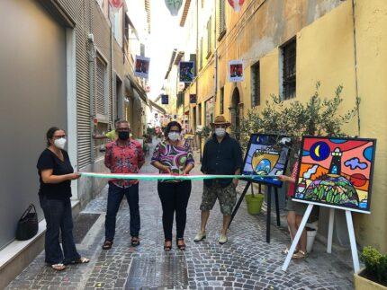 """Inaugurazione della nuova edizione di """"Passi d'arte"""" a Pesaro"""