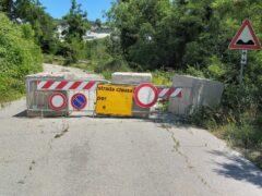 Riapertura della Strada Provinciale 94 a Pergola