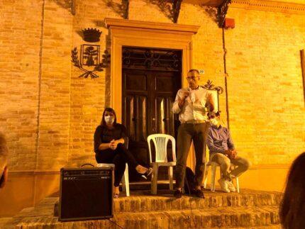 Il sindaco di Pesaro Ricci a Monteciccardo