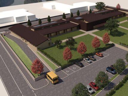 Progetto relativo alla nuova scuola primaria di Fermignano