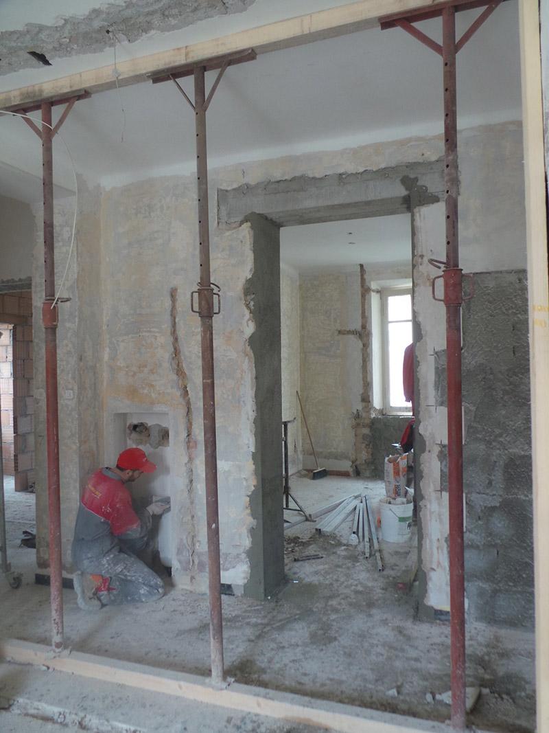 Ristrutturazione Chiavi in mano con la ditta Marinelli Sisto - Appartamento Roselli - Prima