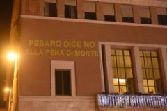 Pesaro dice no alla pena di morte