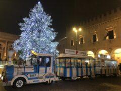Trenino turistico natalizio