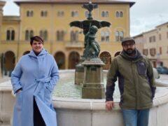 Milena Volpe e Filippo Sorcinelli