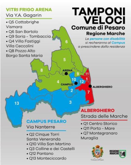 Screening di massa a Pesaro
