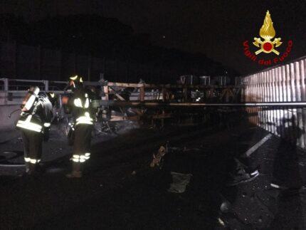 Incidente sull'A14 nei pressi di Pesaro