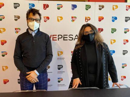 Riccardo Pozzi e Francesca Frenquellucci