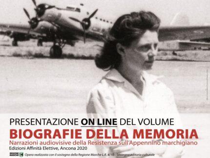 """Locandina del volume """"Biografie della Memoria"""""""