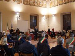 Salone Metaurense della Prefettura di Pesaro Urbino, cerimonia Giornata della Memoria