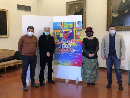 Presentazione dell'immagine ufficiale del Carnevale di Fano 2021