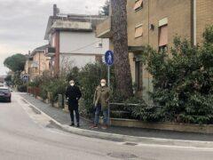 Marciapiedi rifatti a Pesaro