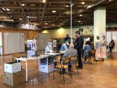 Vaccini al Rossini Center di Pesaro