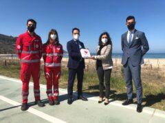 Nuovo defibrillatore consegnato a Pesaro