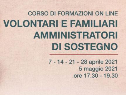 Corso di formazione on line Amministratori di Sostegno