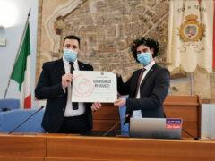 Prima discussione di laurea nella Sala comunale di Pesaro