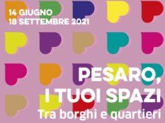 """Locandina di """"Pesaro, i tuoi spazi"""""""