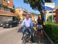 Aroldo Tagliabracci e Mila Della Dora