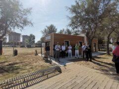 Bagni pubblici inaugurati a Baia Flaminia