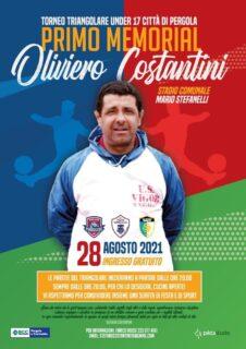 Memorial Oliviero Costantini - locandina