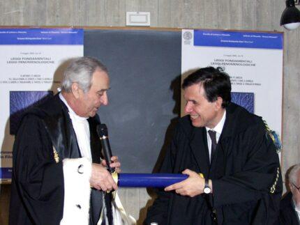 Laurea ad honorem dell'Università di Urbino al premio Nobel Giorgio Parisi