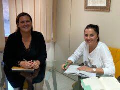 Milena Volpe e Anna Maria Sabatini